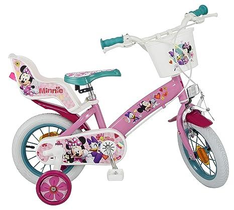 Toimsa 611 Minnie Bicicletta Per Bambina Dimensioni 12 Da 3 A 5 Anni