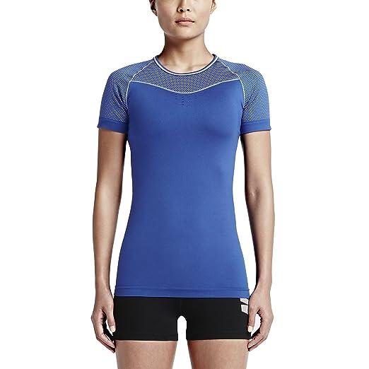 4a3f1b0821b3 Amazon.com  Nike Women s Dri-Fit Pro Hypercool Limitless Training T-Shirt-Game  Royal-XL  Sports   Outdoors