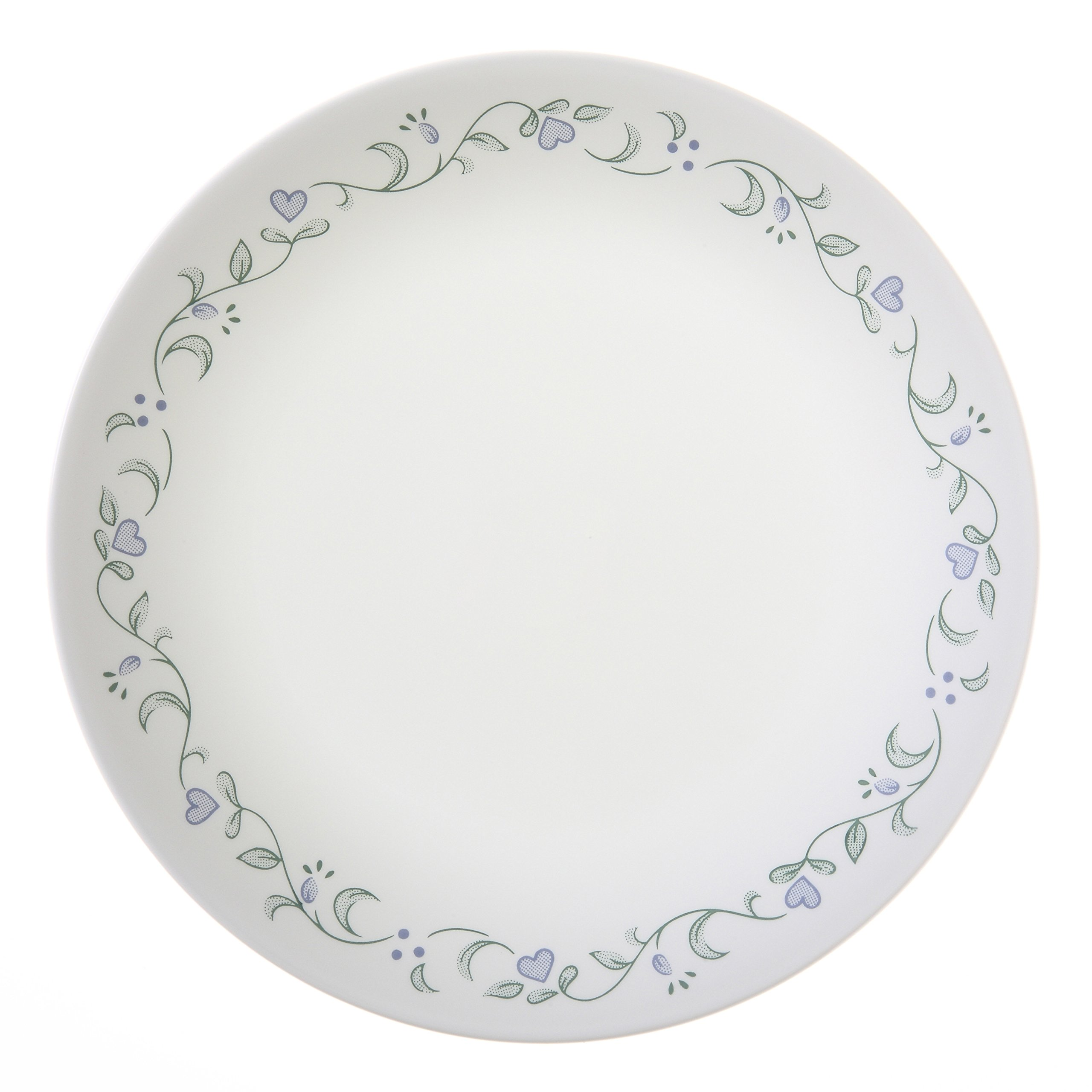 exceptional Corelle Luncheon Plates Open Stock Part - 12: Corelle Livingware Luncheon Plate, 8-1-2-Inch, White, Set of 6
