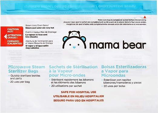 Amazon.com: Marca Amazon - Bolsas esterilizadoras Mama Bear ...