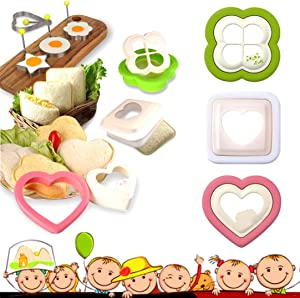 YSSKTC Sandwich Cutter and Sealer - Uncrustables Sandwich Maker - Bread Press Cut and Seal - Sandwich Decruster and Sealer for Boys and Girls Kids Lunch Box and Bento Box - Sandwich Cutters for Kids