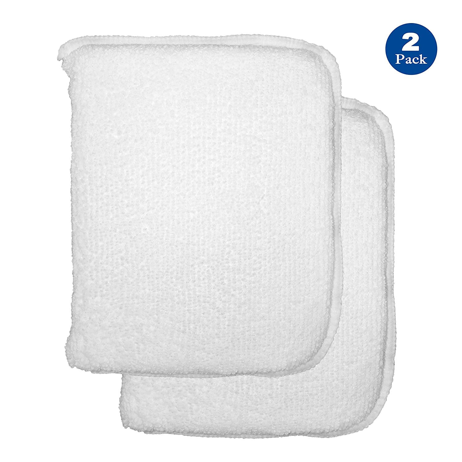 Stella Sealants Professional Sealer Applicator Pad (2 Pack) - for Marble Granite Stone Travertine Countertop Shower Tile and Grout (Improved)