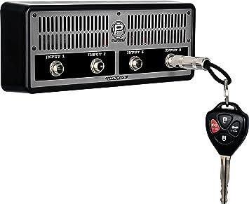 Pluginz Jack Rack Marshall Colgador de llaves con diseño de amplificador de guitarra, Ruckus