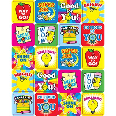 Carson Dellosa Winning Words Motivational Stickers (0648): Carson-Dellosa Publishing: 0044222147563: Office Products