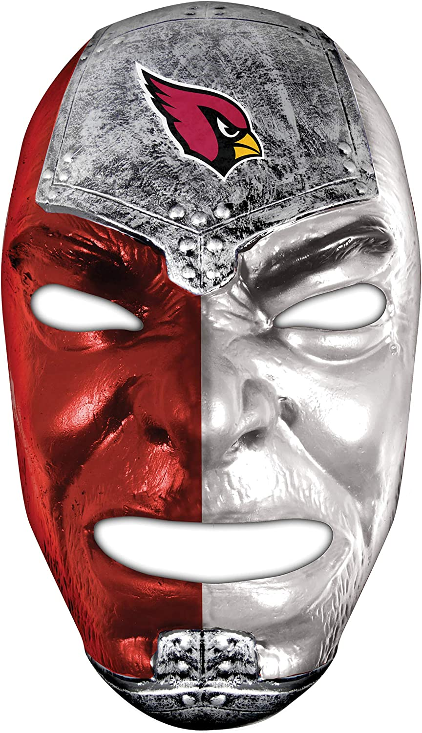Amazon Com Franklin Sports Nfl Arizona Cardinals Fan Face Mask Team Fan Masks For Nfl Football Games And Tailgates Sports Fan Face Mask Face Paint Masks Clothing