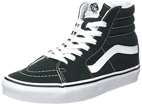 Vans Sk8-Hi Suede/Canvas, Sneaker Unisex-Adulto, Marrone (Tiger's Eye/True White), 43 EU