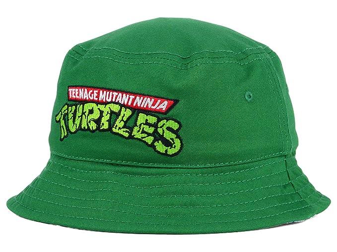 Teenage Mutant Ninja Turtle TMNT Mens Reversible Bucket Sun ...