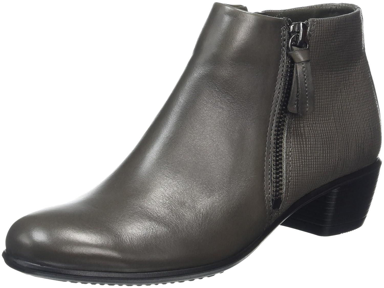 ECCO Women's Touch 35 Ankle Bootie B01AATBA7W 41 EU/10-10.5 M US|Warm Grey