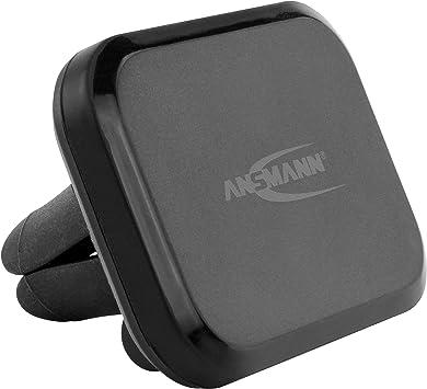 Ansmann 1700-0069 Coche - Soporte (Teléfono móvil/Smartphone, Coche, Soporte pasivo, Negro, Magnetic Mount,Car Vent Mount, 55 mm): Amazon.es: Electrónica