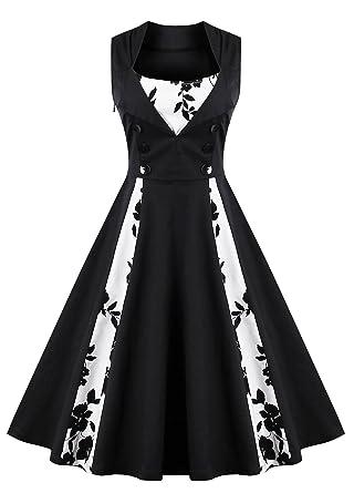 Kilolone 1950 Vintage Dress Plus Size Rockabilly Pinup Cocktail