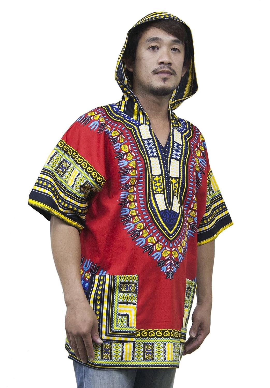 Lofbaz Unisex Dashiki Tradicional de África Camisa Hippy: Amazon.es: Ropa y accesorios
