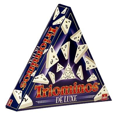 Goliath 60650 - Triominos De Luxe - Dominó Triangular: Juguetes y juegos