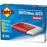 AVM FRITZ! Box 3272 Modem Router Wireless N450, ADSL, ADSL2+, 2 LAN Gigabit, Media Server
