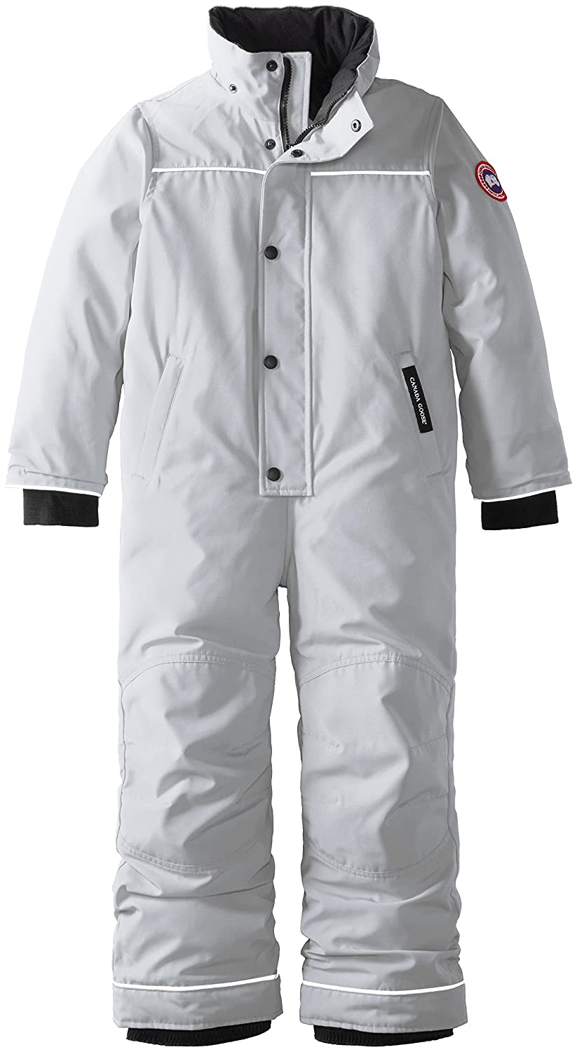 81f8e5557 Canada Goose Kids Grizzly Snowsuit, Silverbirch, 6-7: Amazon.ca: Sports &  Outdoors