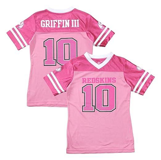 the best attitude 8075f f2026 Amazon.com: Robert Griffin III Washington Redskins #10 Pink ...