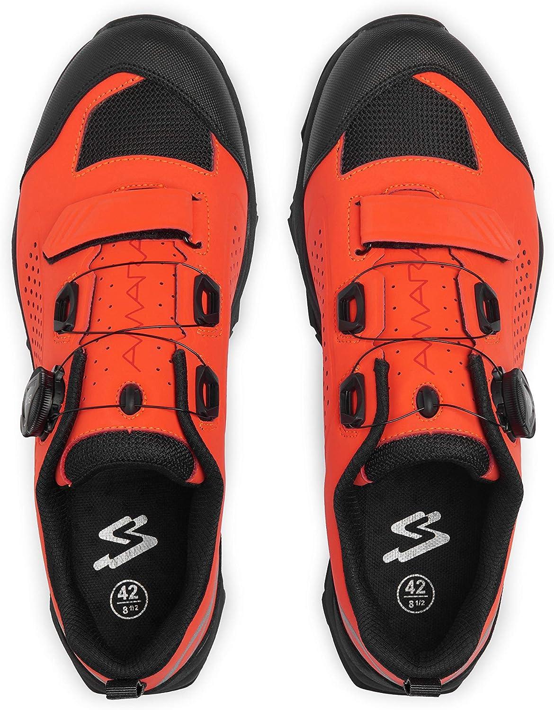 Scarlet Spiuk Sportline Amara Zapatilla de Ciclismo Adultos Unisex 41