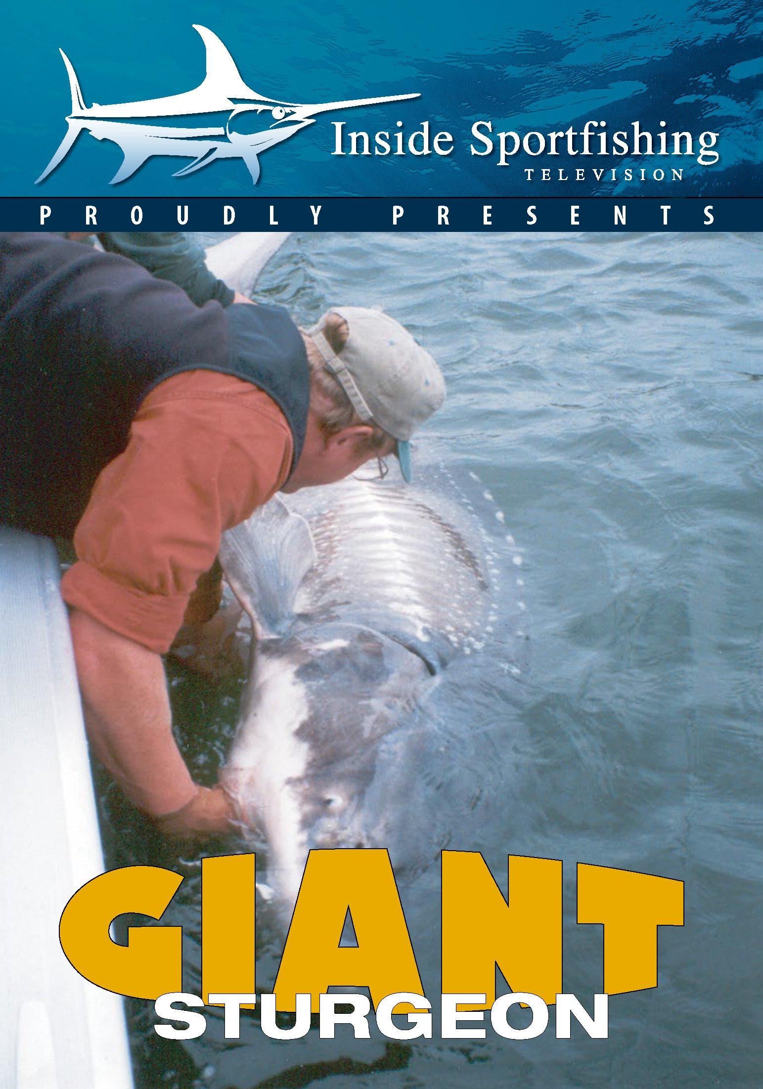 DVD : Inside Sportfishing: Giant Sturgeon (DVD)