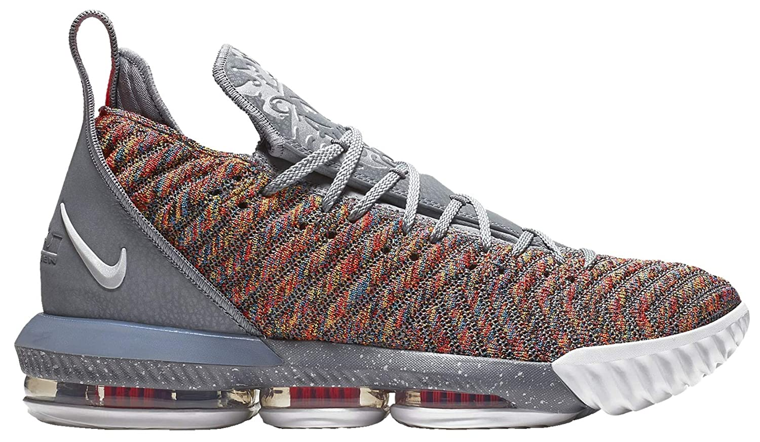 new arrival c0aef 903b7 Amazon.com | Nike Lebron 16 Basketball Shoes (Silver, 11.5 ...