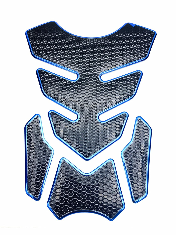 Niree Motorcycleタンクガス金属光沢プロテクターパッドステッカーデカールfor Triumph Speed Triple Daytona 955iスピード4 TT 600 SRINT ST ( c01 # ) Niree-Protector Pad Sticker  C06 B076VYRV1R