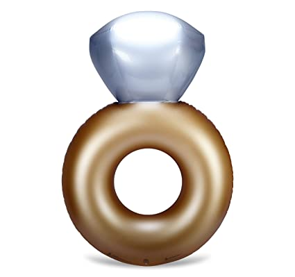 Mimosa Inc anillo de compromiso hinchable Premium calidad gigante piscina flotador