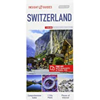Insight Guides Travel Map Switzerland