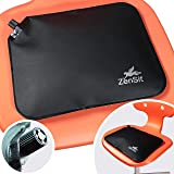 AJUVIA Pocket-Portable Wiggle Seat for Kids (No Pump Required) - Inflatable Sensory Wobble Cushion - Flexible Seating for Cla