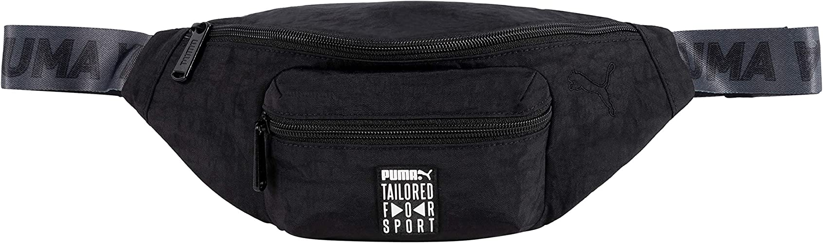 PUMA Tailored for Sport Waist and Shoulder Pack Bag (Black): Amazon.es: Zapatos y complementos