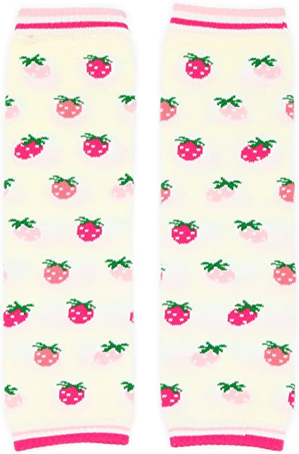 4er-Pack mit Kirschen und Blumen Universalgr/ö/ße Dotty Fish Stulpen im Multipack f/ür Babys und Kleinkinder M/ädchen