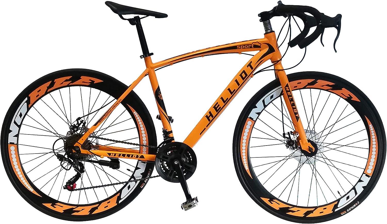 Helliot Bikes Sport 03 Bicicleta de Carretera Urbana, Adultos ...