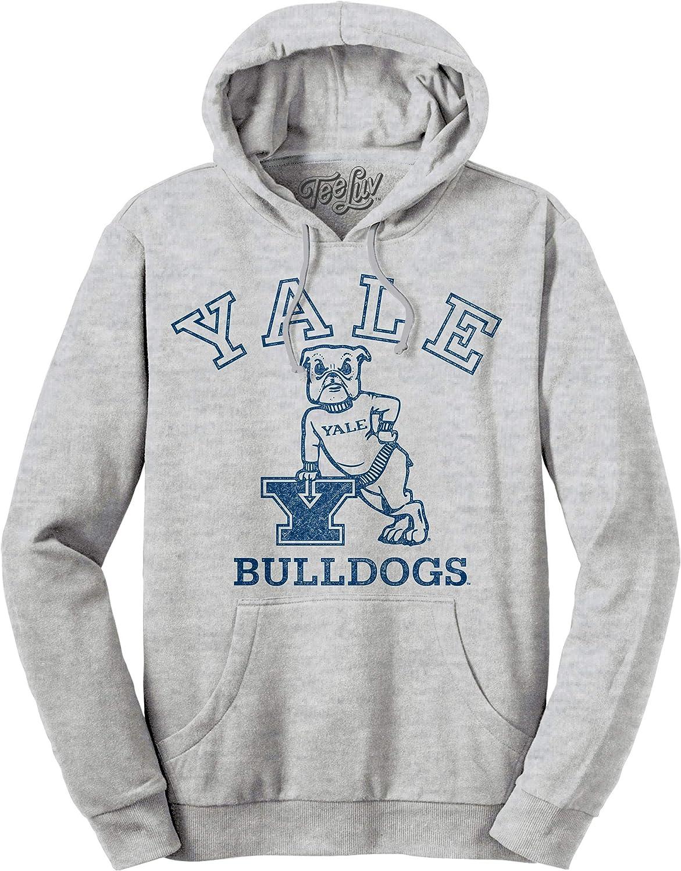 Tee Luv Yale Hoodie Licensed Yale Bulldog Pullover Hoodie