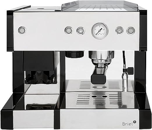 Briel EG289E IN Cafetera con molinillo de Café de acero inoxidable ...