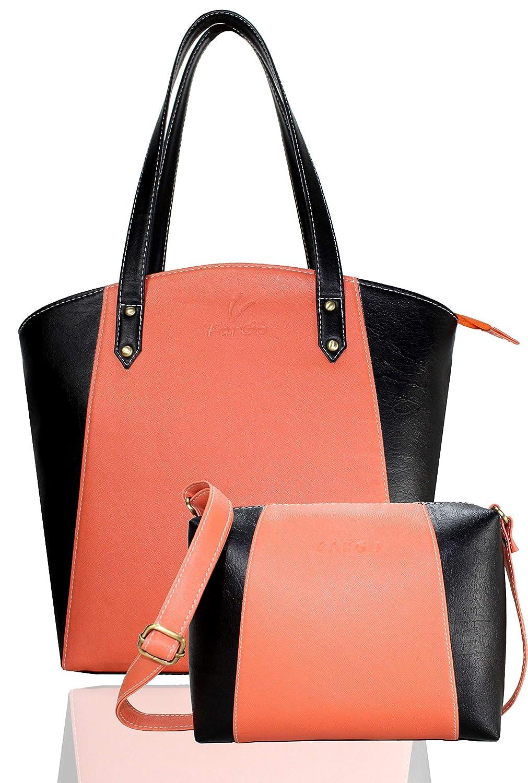 Loot Fast Leather Women's & Girl's Shoulder Handbag Combo at 649 MRP 2499