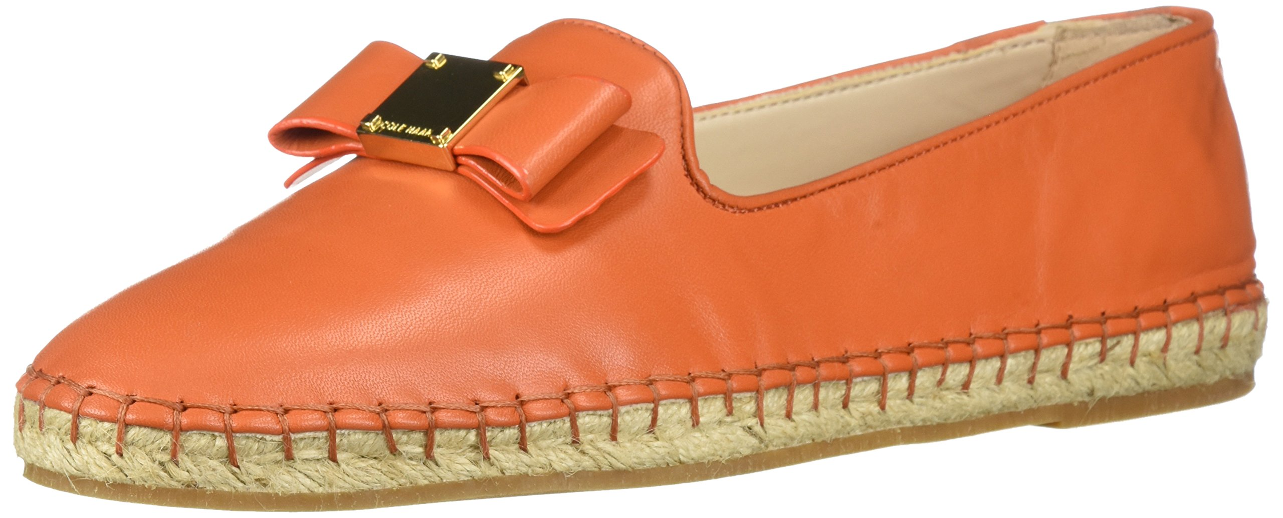 Cole Haan Women's Tali Bow Espadrille Loafer, Koi Leather, 8.5 B US