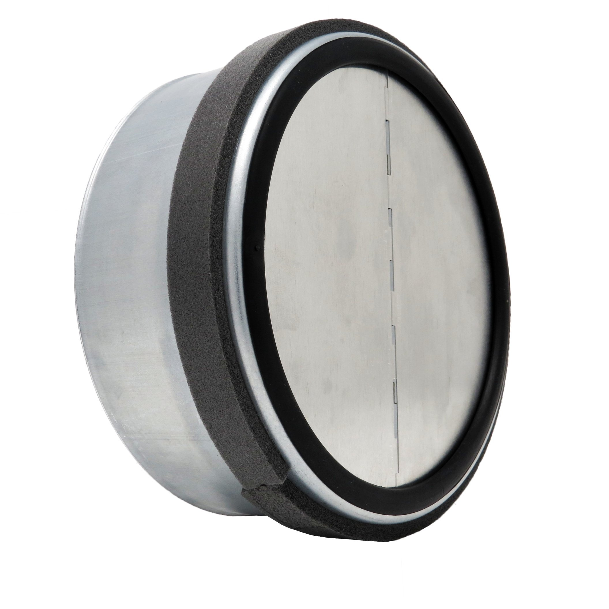 ALDES 8 Inch Round Spring Loaded Backdraft Damper - Professional Grade