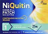 NiQuitin Clear 24 Hour 7 Patches Step 1, 21mg - 1 Week Kit