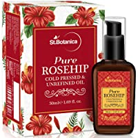 StBotanica Pure Rosehip Oil, 50ml (For Fine Lines, Anti aging, Anti Wrinkle)