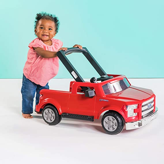 Bright Starts - Trotter 3-en-1 Ford F-150 rojo: Amazon.es: Bebé