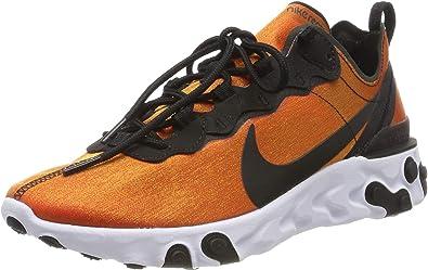Turbina En la madrugada Evaluación  Amazon.com: Nike React Element 55 Premium SU 19: Shoes