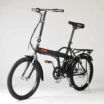 Bicicleta eléctrica plegable batería de litio – Plegable en tan solo 10 segundos sin el uso