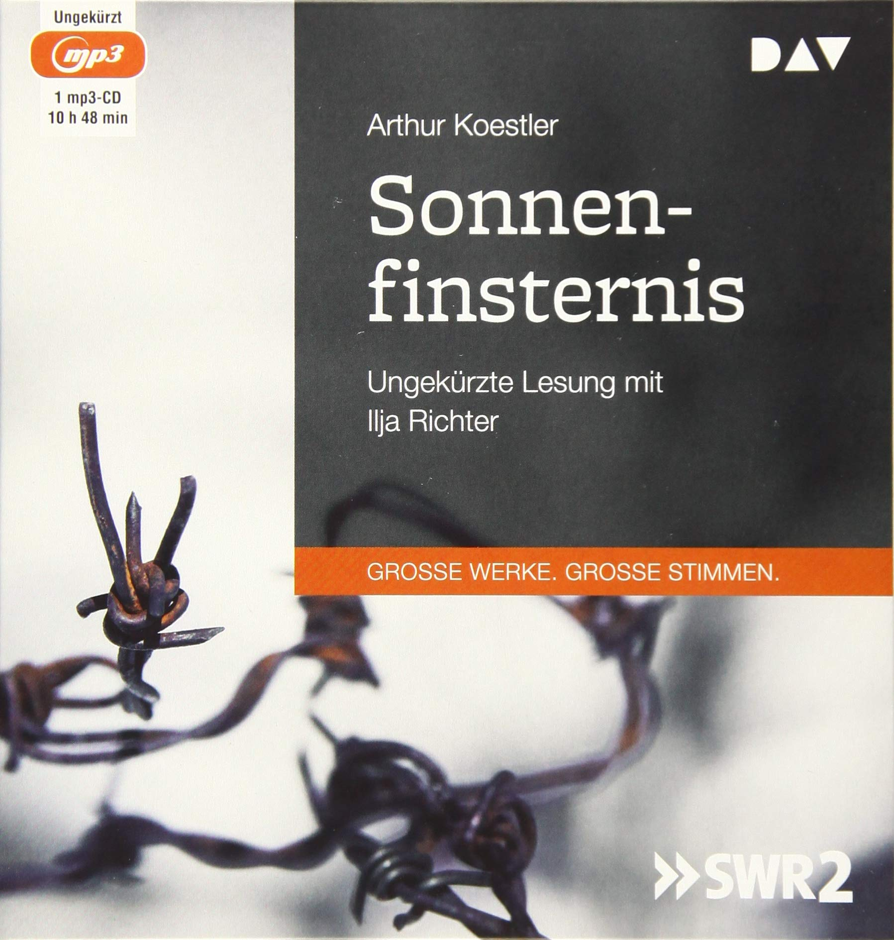 Sonnenfinsternis  Ungekürzte Lesung Mit Ilja Richter  1 Mp3 CD