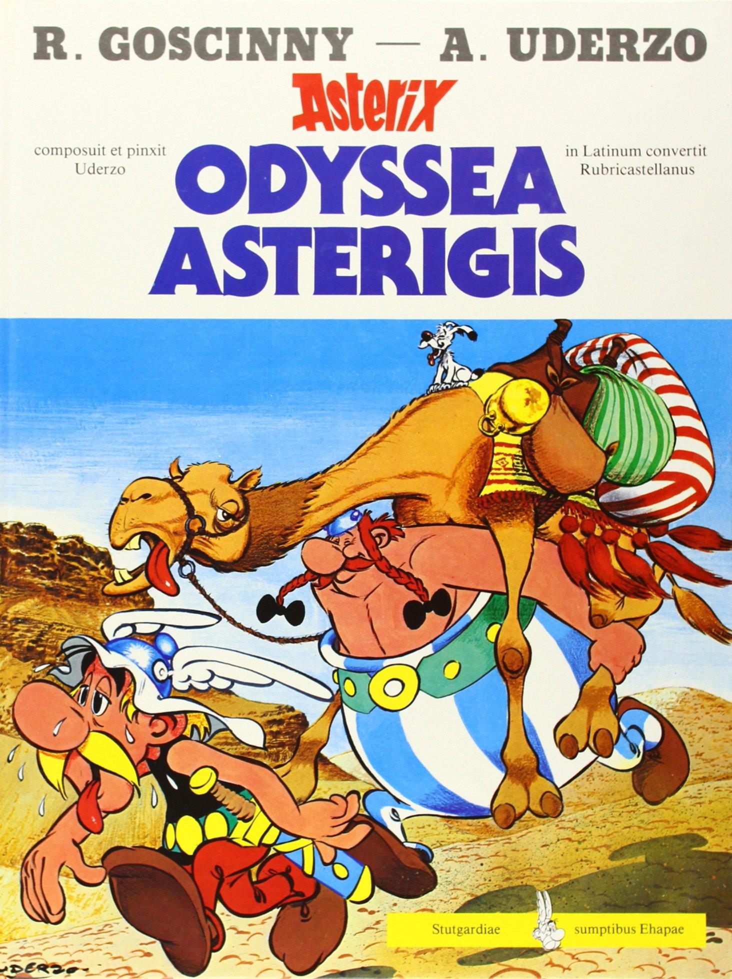 Asterix - Lateinisch: Asterix latein 10: Odyssea Asterigis