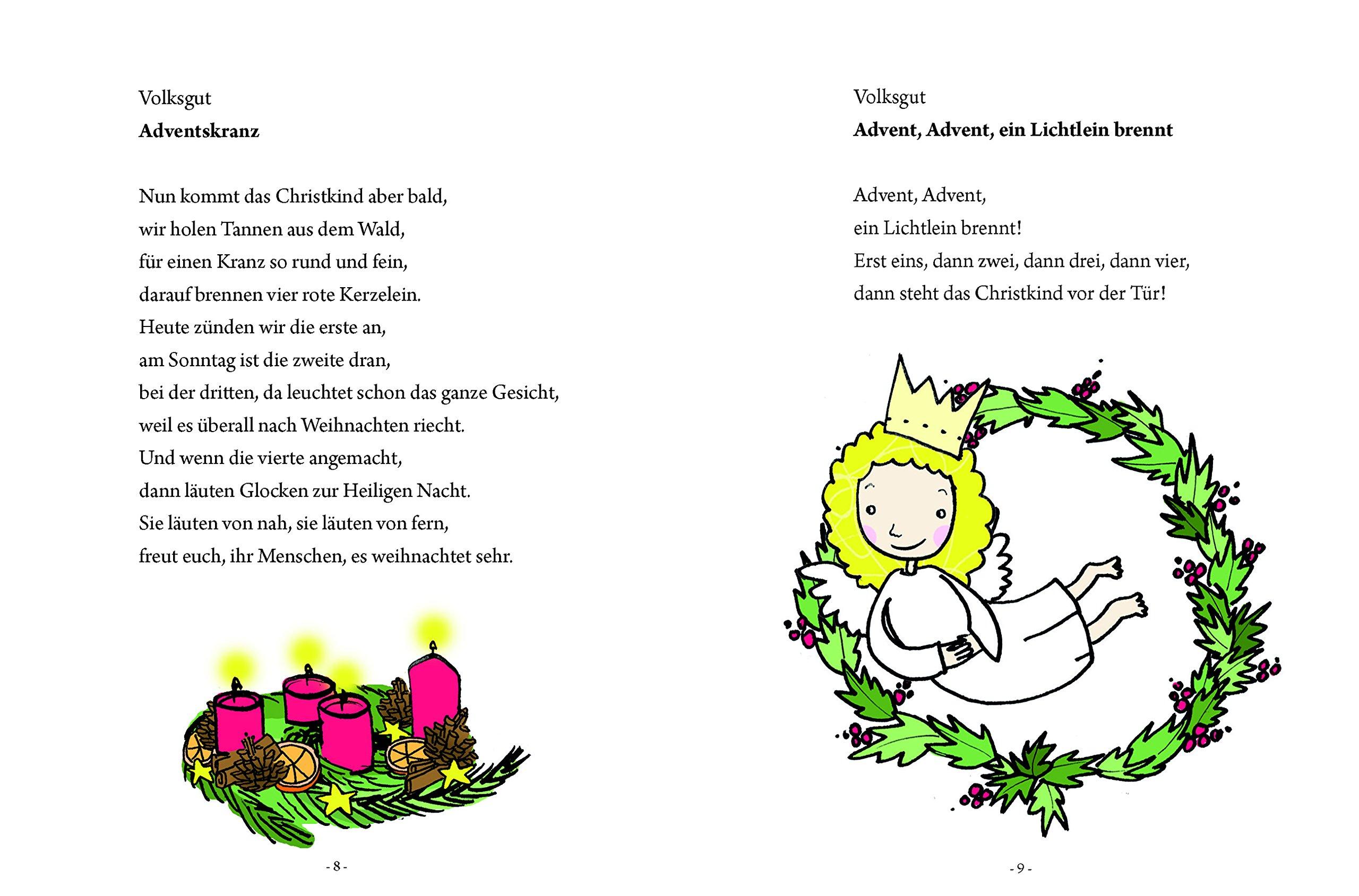 Weihnachtsgedichte Für Kinder Grundschule.Das Große Kleine Buch Weihnachtsgedichte Für Kinder Amazon Co Uk