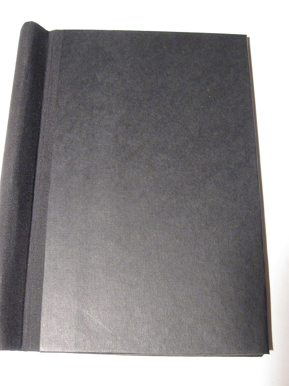 WB-Klemmbinder-A5-30mm, ( A5 ! nicht A4 ) Deckel wibalin-sw