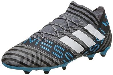 adidas Nemeziz 17.2 FG, Chaussures de Football Homme, Noir (Cblack/Cblack/Solred), 48 EU