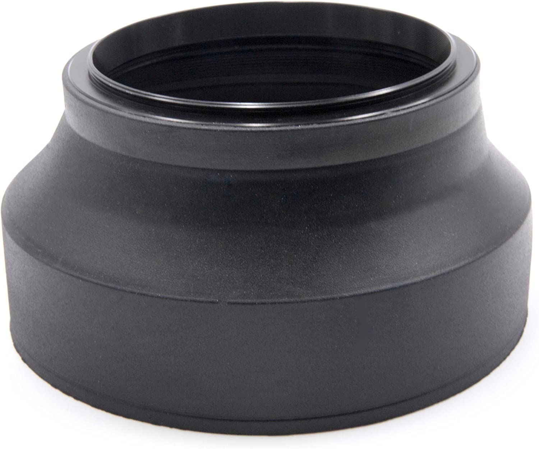 Vhbw Flexible Gummi Gegenlicht Streulicht Blende 72mm Kamera