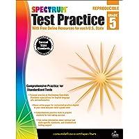 Spectrum Test Practice, Grade 5