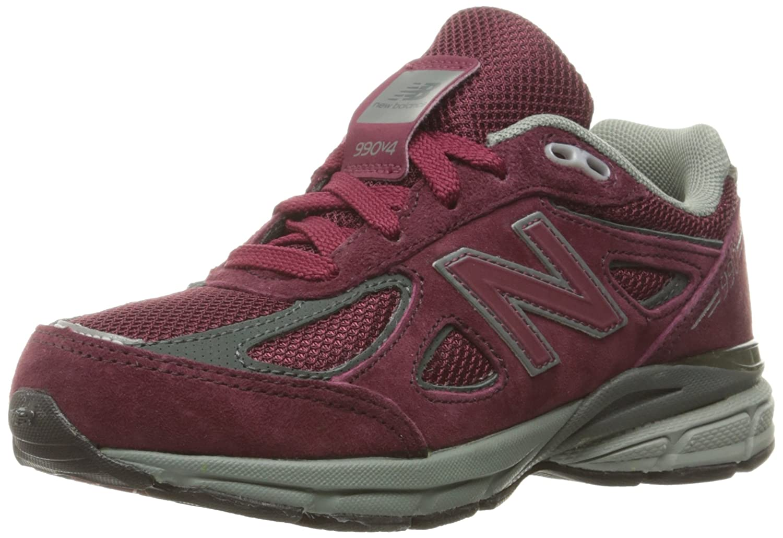 Burgundy New Balance KJ990V4 Pre Run Running chaussures (Little Kid) 11.5 XW US Little Kid