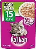 カルカン パウチ 高齢猫用 15歳から まぐろ たい入り 70g×16袋 (まとめ買い) [キャットフード]