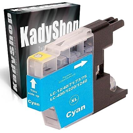 Cartuchos de impresora compatible para Brother LC 1240 XL (4 x ...