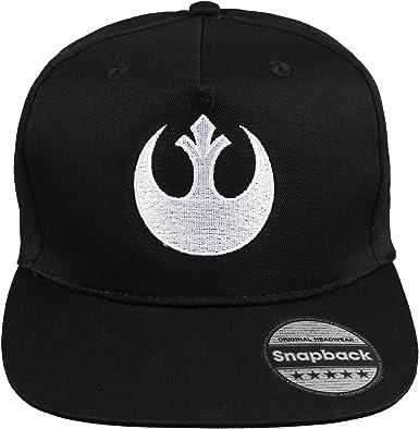 Star Wars Rebel Logo Gorra de béisbol, Negro (Black BLK), Taille ...